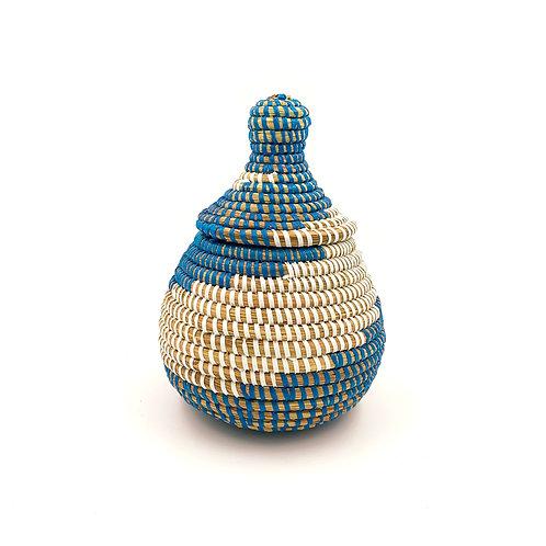 Bonbonnière Peulh Bleu