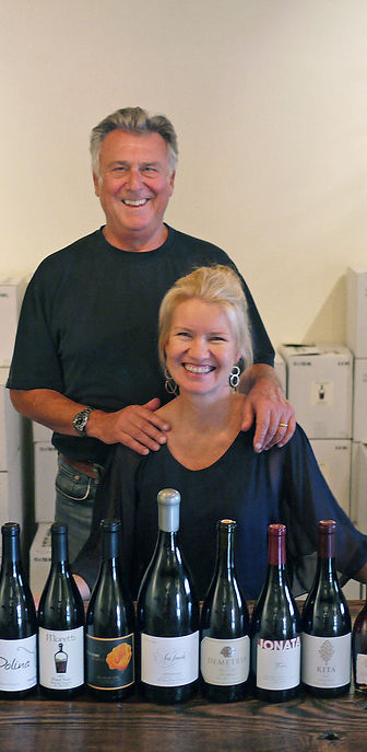 Taste of Santa Rita Hills wine shop owners Antonio & Jeni Moretti