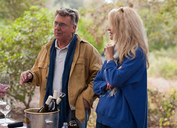 Taste of Santa Rita Hills Wine Shop Owners Antonio & Jeni Moretti