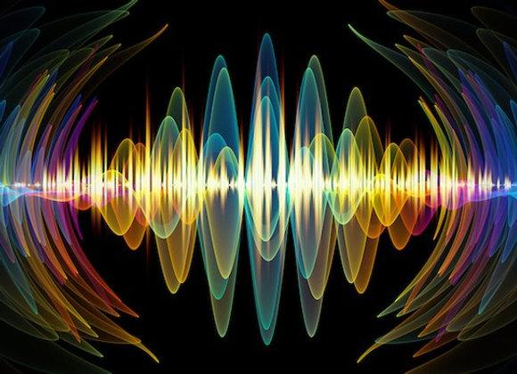 Vibrations Heard Afar for percussion trio, all percussion scores