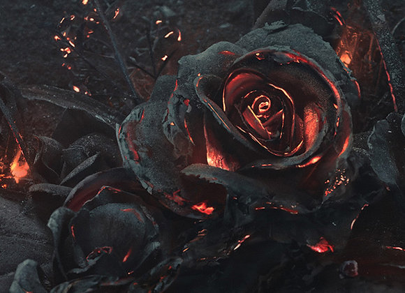 Tragedy of a Scorched Rose for wind ensemble score