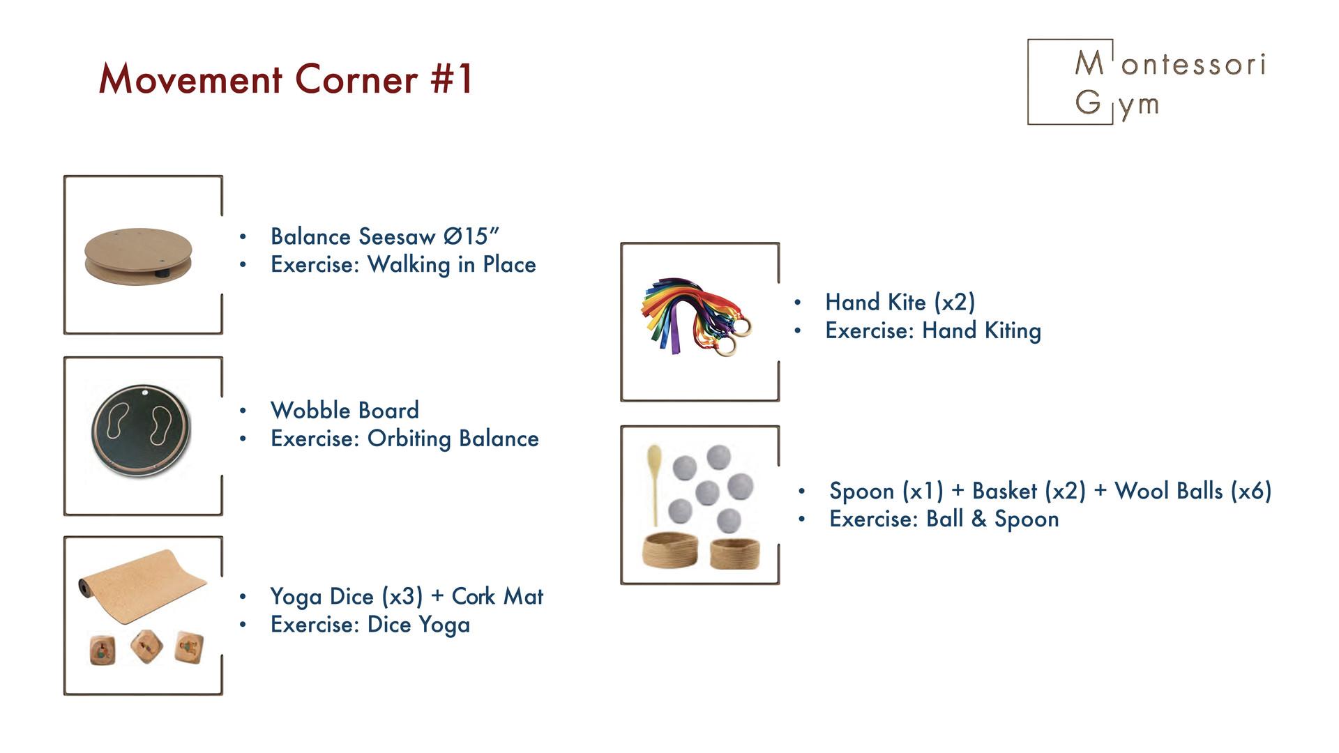 Movement Corner #1