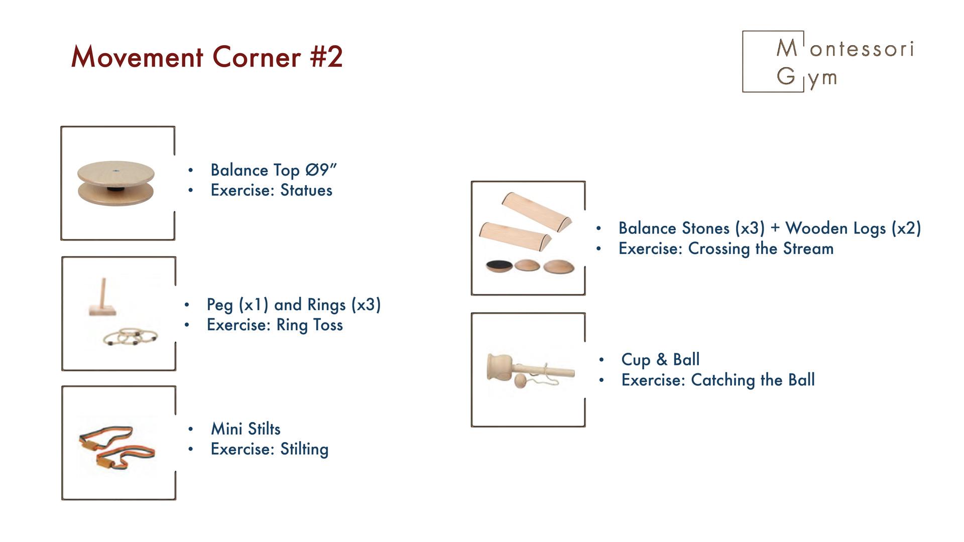 Movement Corner #2