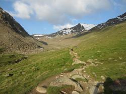 Aufstieg Similaun Hütte