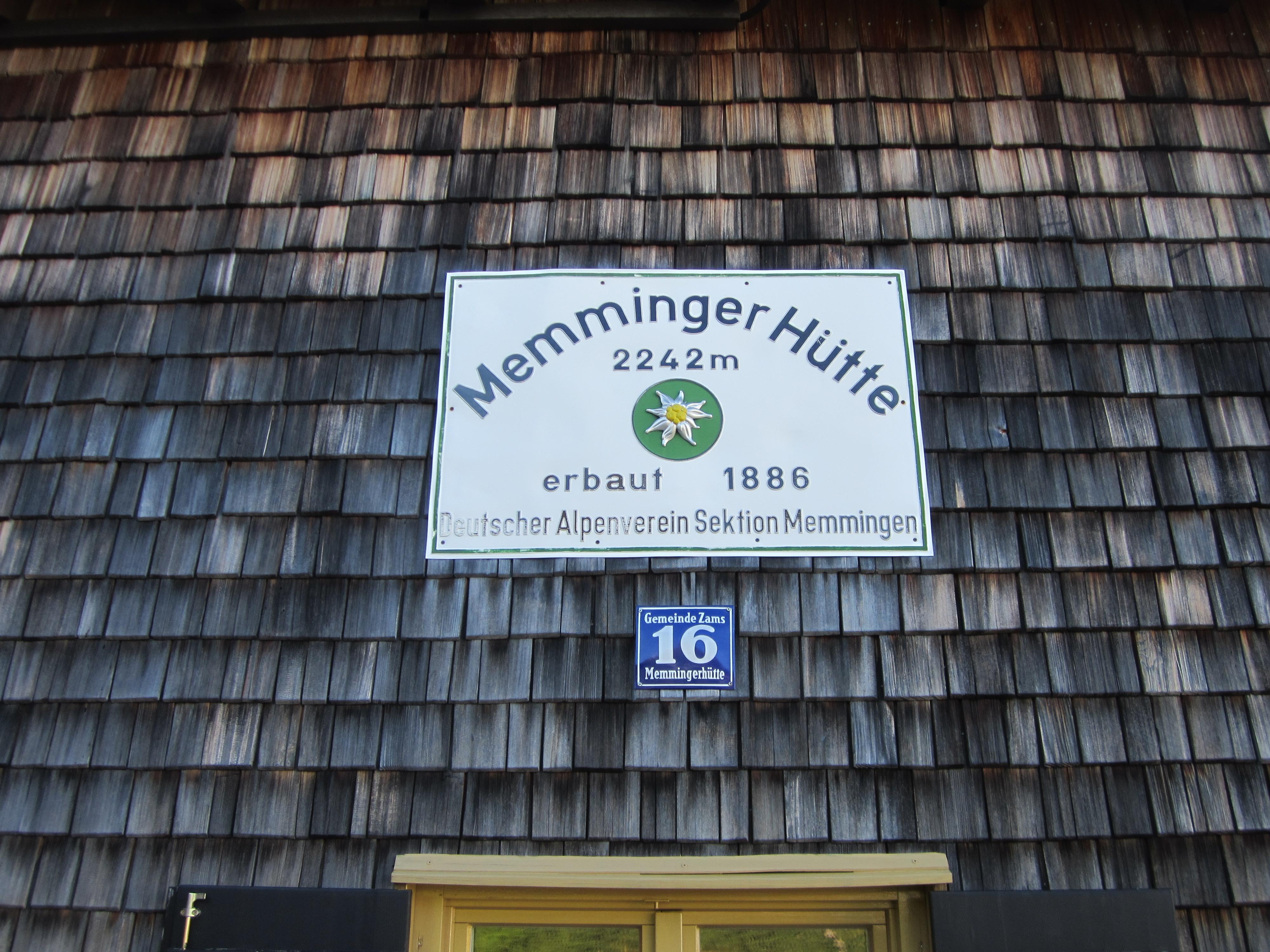 Memminger Hütte  ;)