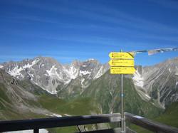 Ausblick von der Memminger Hütte