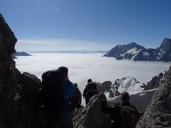Ausblick von der Seescharte 2599m