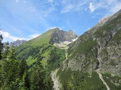 Aufstieg Memminger Hütte
