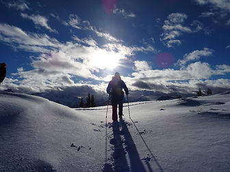 Schneeschuhtour im Chiemgau