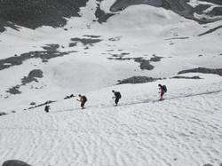 Abstieg Rettenbachferner