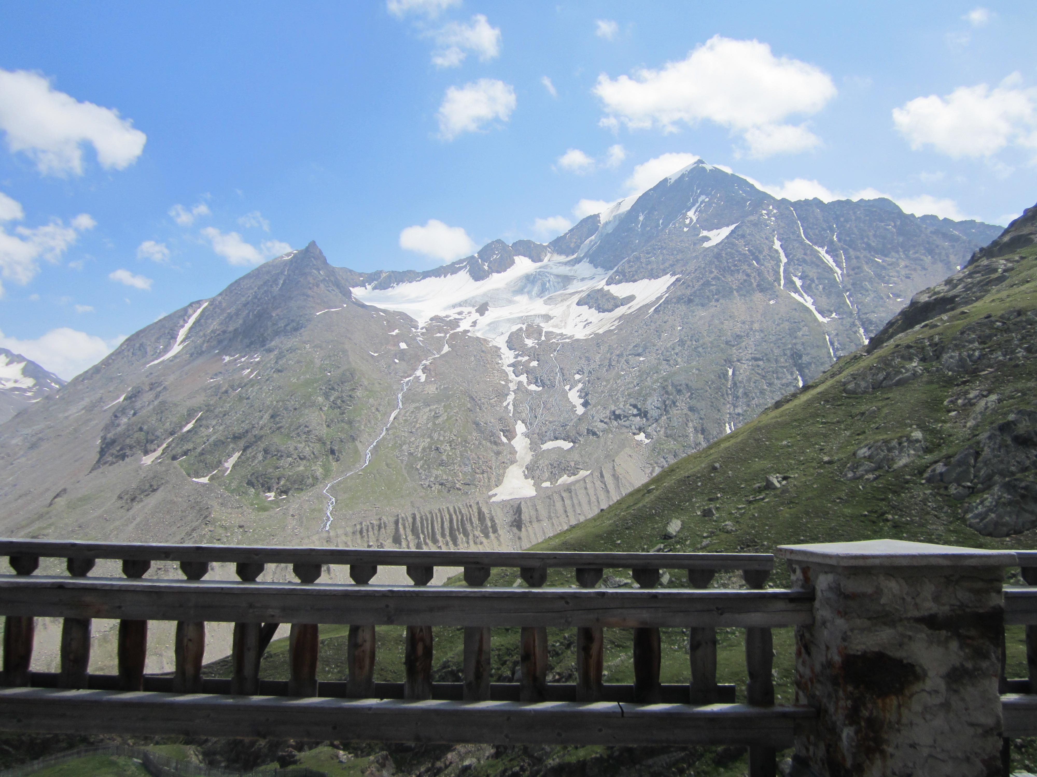 Blick von der Martin-Busch Hütte