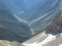 Blick ins Lochbach Tal