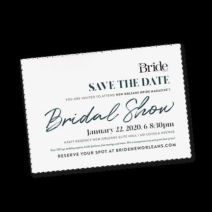 Bridal Show Print Invte