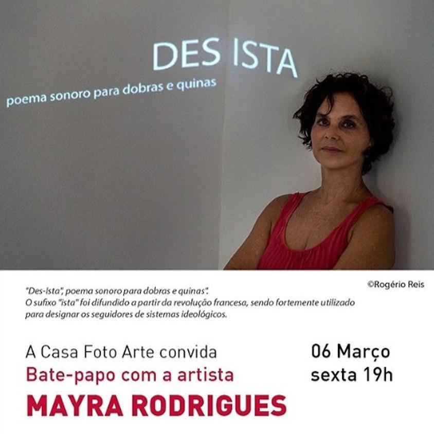Bate-papo com a artista Mayra Rodrigues