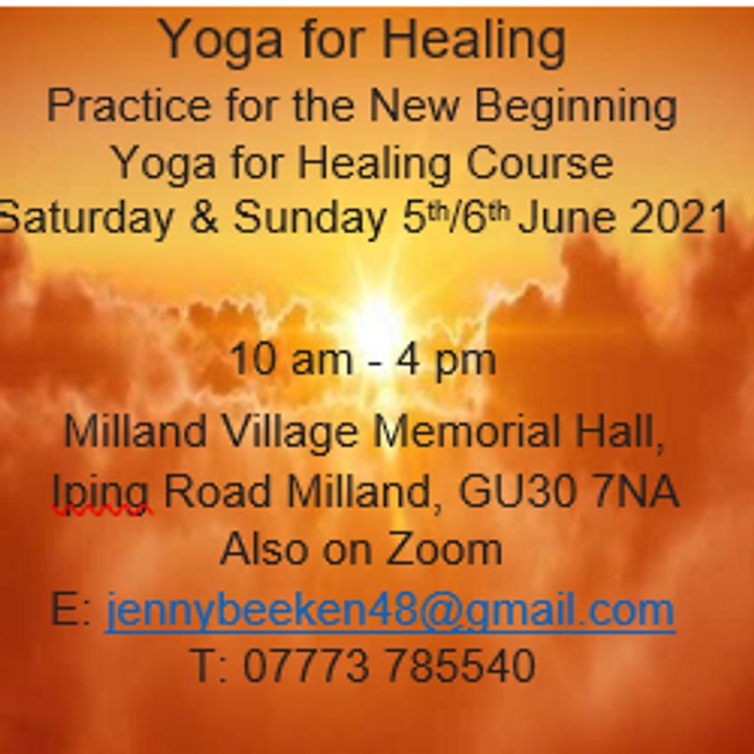 Yoga for Healing with Jenny Beeken