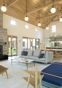 Living in the Great Room Barn