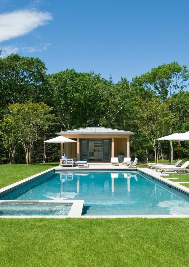 Pool, Hot Tub and Poolhouse