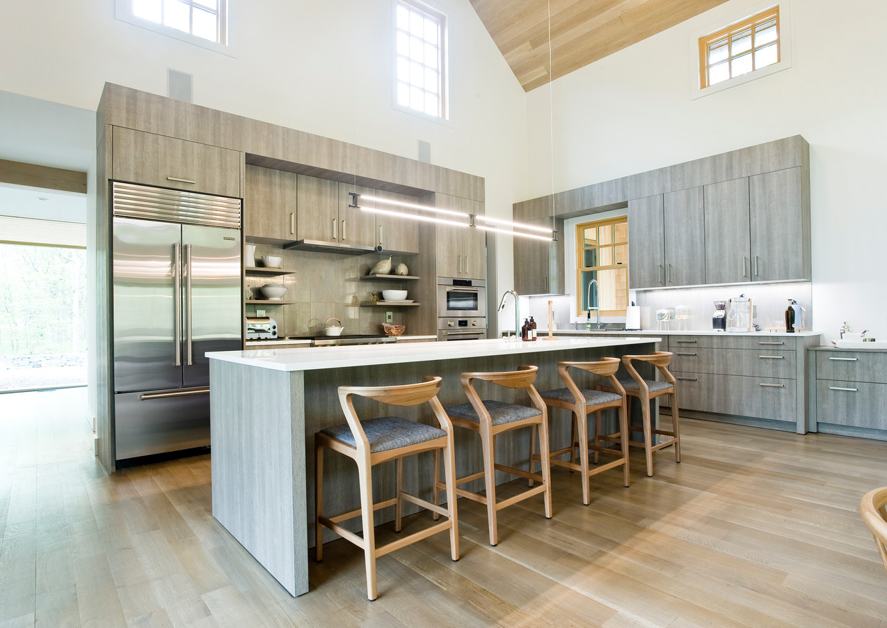 Kitchen in the Great Room Barn