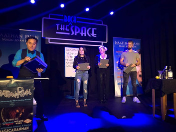 Stage Magic Show at The Space in Las Vegas