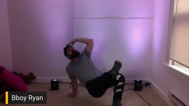 BBoy Ryan's FREE Virtual Break Dance Sho