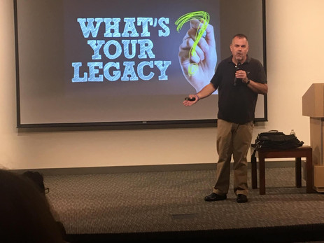 Discovering Your Legacy College Talk