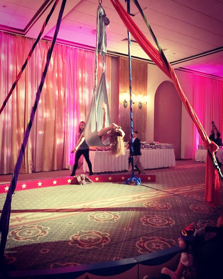 Exposed-Ceiling-Beam-Aerialist-For-Events