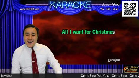 Naathan Phan Virtual Zoom Karaoke