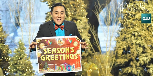 Naathan Phan Featured On CW Masters Of Illusion Christmas Special