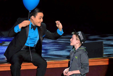 Naathan Phan on Master's of Illusion Stage
