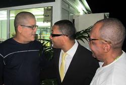Miguelito, Rubalcaba y Changuito