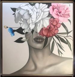 Mujer de Flor 3