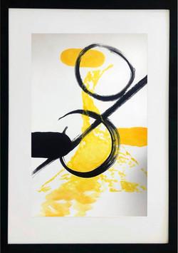 Simplicity Black & Yellow I
