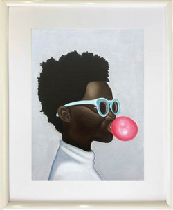 Guy with a Bubble Gum