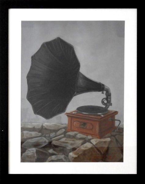 Artista: César Flores Año: 2017 Técnica: Mixta sobre papel de algodón Dimensiones: 50 cm x 70 cm