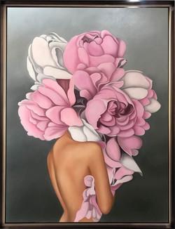 Mujer de flor II
