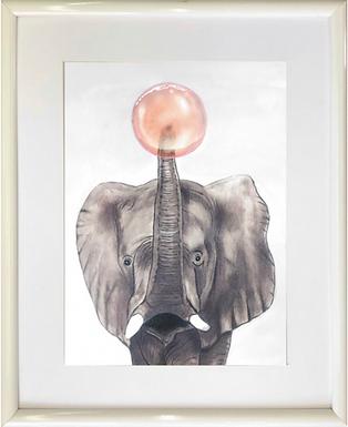 Bubble elephant