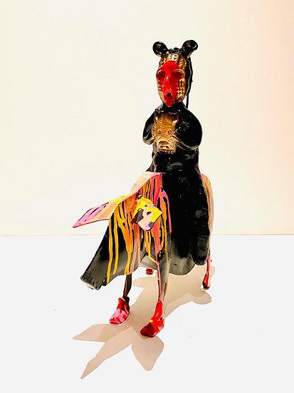 Escultura El Jinete