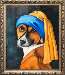 La perra con el arete de oro