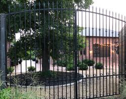 CY - iron fence