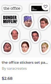 Redbubble sticker 22