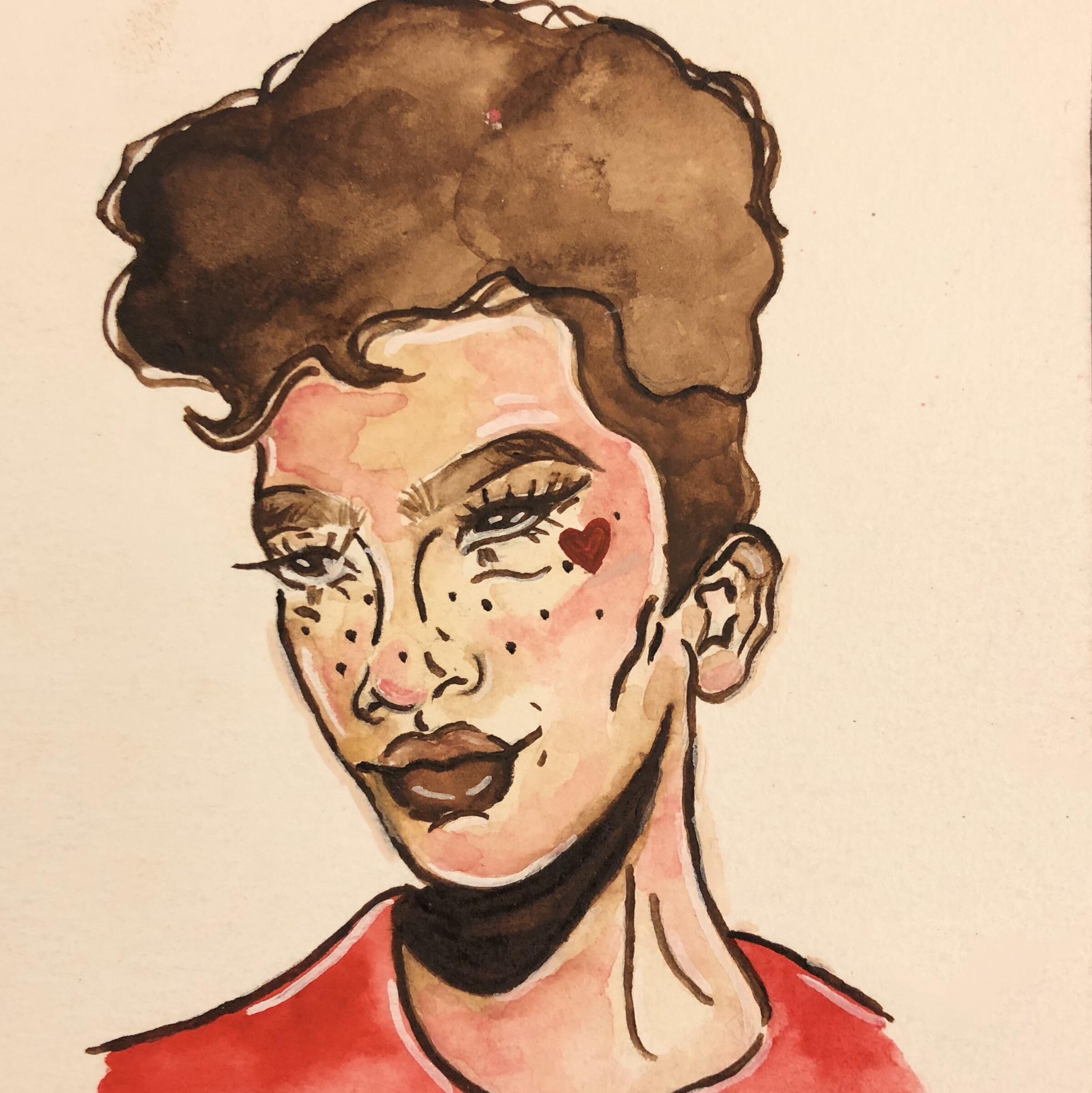 Portrait by Brianna Cunningham