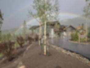 20190810 Fairways Finished Rainbow
