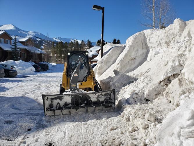 Snowbanks Encroaching?