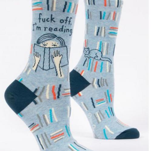 Fuck off I'm reading w-crew socks