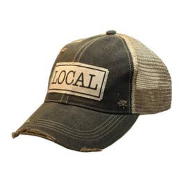Vintage distressed LOCAL trucker hat