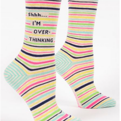 shhh....I'm over thinking w-crew socks
