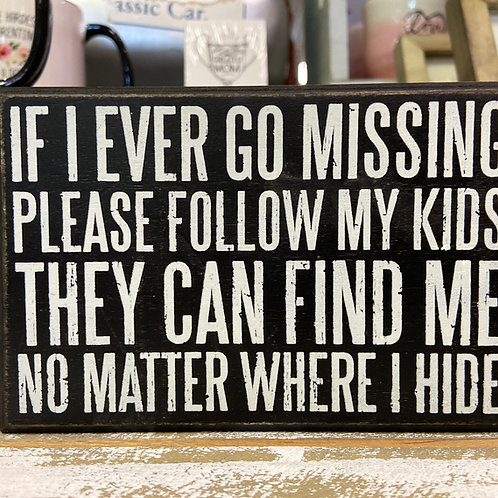 copy of MISSING SIGN