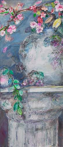 생의화음 77x33cm, Mixed Media on Canvas, 202