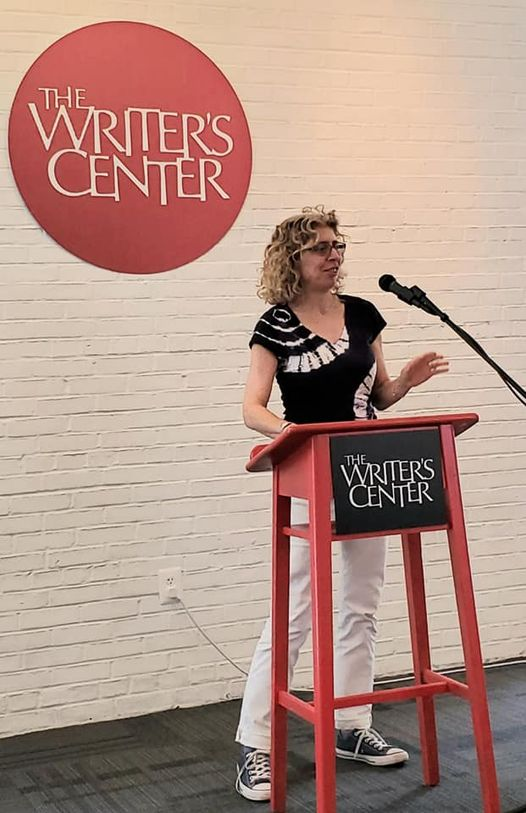 a reading at the Bethesda Writer's Center