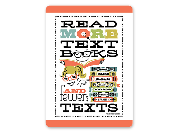 Read more textbooks card